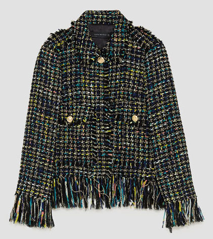 The Best Chanel Style Boucle Jacket on the Internet